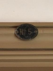 旧三笠ホテル ルームナンバー