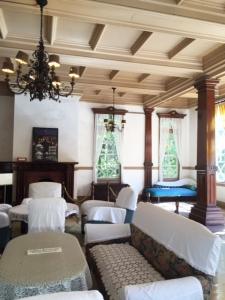 旧三笠ホテル フロント・ロビー