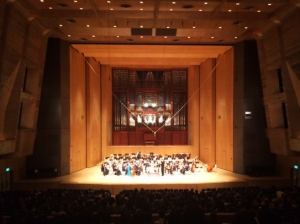 国立音楽大学芸術祭 講堂大ホール