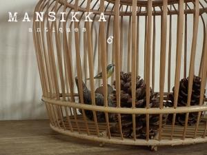 竹細工の鳥かご