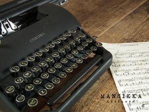 アメリカ製の古いタイプライター