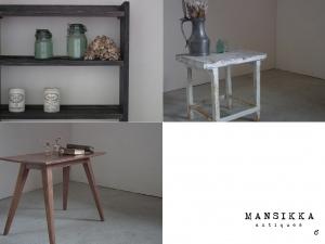 日本の古家具の新商品3点
