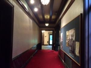 旧前田侯爵邸洋館の2階廊下