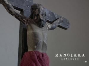 スペイン統治時代のキリスト像