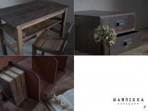 アンティーク木製家具3点