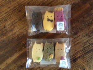 可愛い動物クッキー