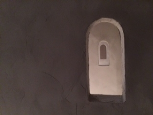漆喰の壁その1