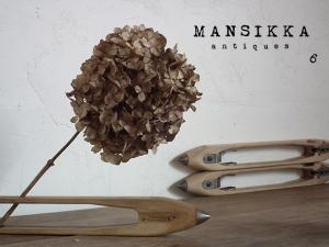 ドイツ製 木とアイアンの糸巻き