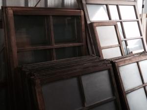 印刷工場の引き戸