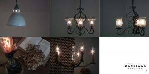 シャンデリアを含む照明5点画像
