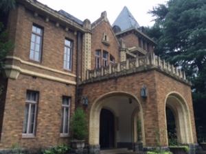 旧前田侯爵邸洋館の外観