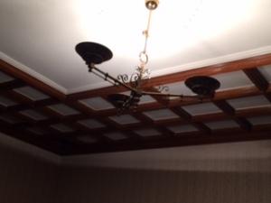 旧前田侯爵邸洋館の天井照明