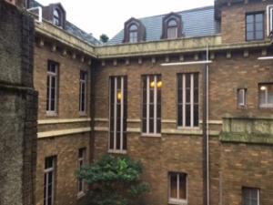 旧前田侯爵邸洋館の中庭