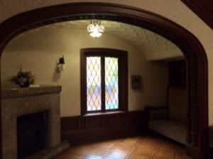 旧前田侯爵邸洋館の待合室