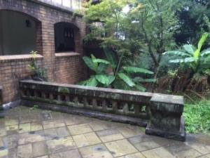 旧前田侯爵邸洋館の渡り廊下