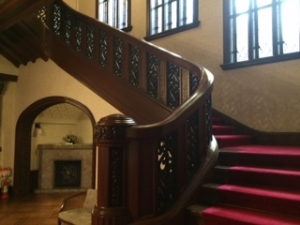 旧前田侯爵邸洋館の階段