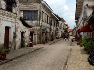 古都ビガンの街並み