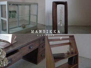 アンティーク家具の新商品4点