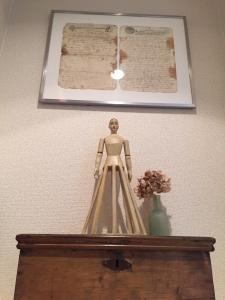 マリア像のディスプレイ