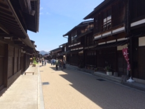 奈良井宿の画像