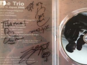 THE TRIOのサイン