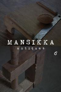 チェコの木製古道具