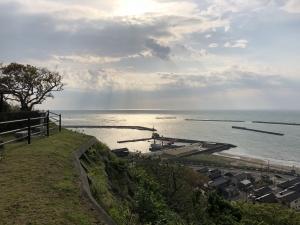 新潟県の出雲岬