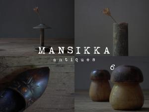 リトアニアの小さな木製雑貨5点