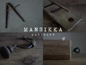 中欧のアンティークパーツと工具