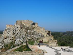 スロバキアのデヴィーン城