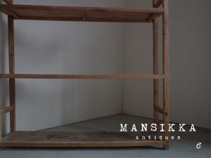 アンティーク木製ラック