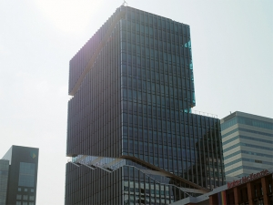 オランダの高層ビル画像