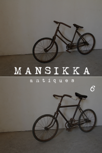 IDEALEの古い自転車