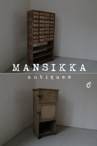 作業場の古家具
