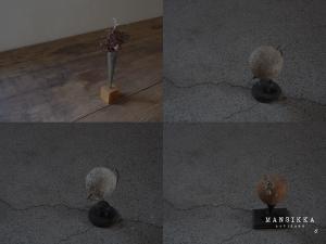 花器と惑星儀