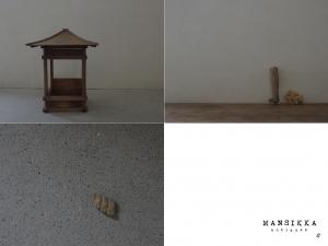 祠宮と木彫