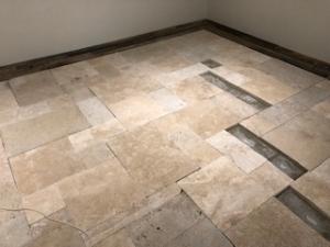 店舗床の改装