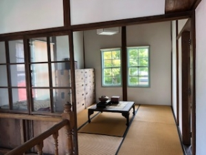 旧田中銀行博物館二階和室