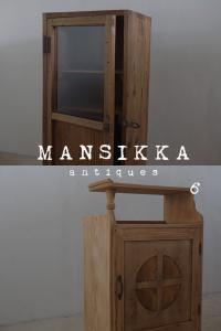 剥離した日本の古家具