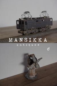 鉄道模型と手作り扇風機