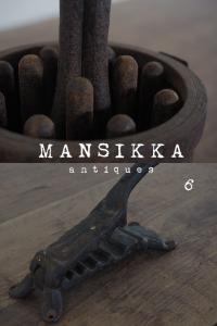 鉄製の古道具