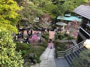 小澤酒造でのイベントの模様