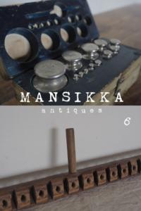 ラトビアの分銅と古道具