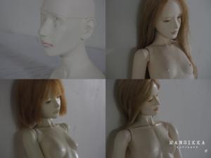 胸像と球体関節人形